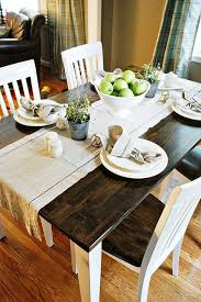 Dark Dining Room Table Best 20 Dining Table Runners Ideas On Pinterest Dining Room