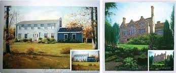 house portrait paintings from photos the worlds artist