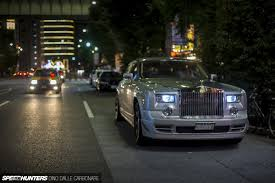 rolls royce phantom gold phantom magic bye bye v12 hello 2jz speedhunters