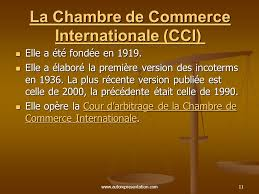 chambre de commerce internationale les principaux organismes internationaux en commerce international