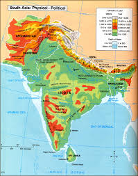 Monsoon Asia Map by Geography Of South Asia