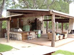 rustic backyard pavilions home outdoor decoration