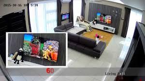 4mp ip camera cctv video record home demo youtube