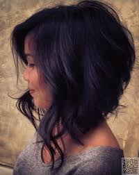 mid length hair cuts longer in front image result for inverted naturally curly bob front view hair