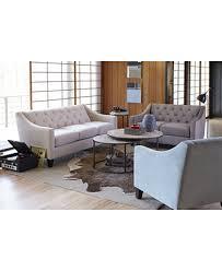 chloe velvet tufted sofa chloe velvet tufted chair custom colors furniture macy s