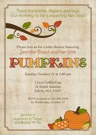 fall baby shower invitations fall pumpkin baby shower invitation