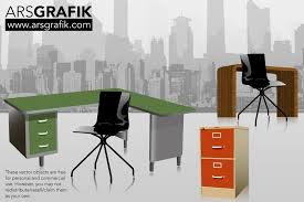 31 unique office furniture vector yvotube com