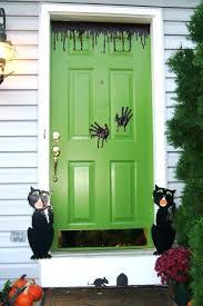 halloween front door decor choice image french door u0026 front door
