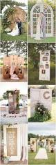 rustic old door wedding ideas country outdoor wedding decors