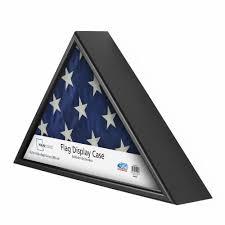 How To Fold A Flag Triangle Mainstays Flag Display Case Walmart Com
