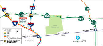 Caltrans District Map San Ysidro Project Maps And Videos