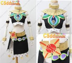 coc halloween costumes the legend of zelda breath of the wild riju cosplay costume black