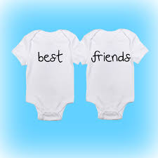 twins onesies baby boy baby baby clothing unique