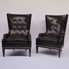 Traditional Armchairs For Living Room Pair Of Hickory Chair Living Room Elliott Wing Chairs