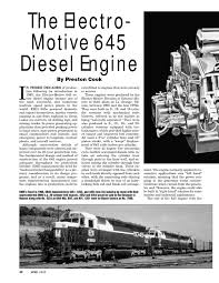 electro motive 645 diesel engine by philip hom issuu