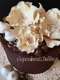 sugar paste flowers cupcakes2delite