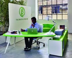 Chair Office Design Ideas Office Workspace Green Modern Office Creative Design Featuring