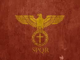 Flag By Crimson Empire Roman Empire Flag By Lordnarunh On Deviantart