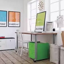 Two Desks In One Office 2 Answers Office Furniture Which Rolling Drawer Units Have