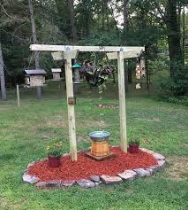 new bird feeder station yard projects pinterest bird feeder