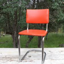 Industrial Metal Kitchen Chairs Shop Vintage Chrome Chairs On Wanelo