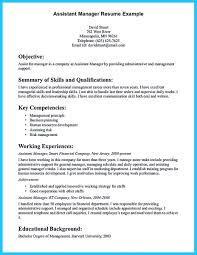 assistant manager resume assistant manager resume that can bag you