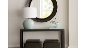 Parsons Console Table Parsons Console Table With Glass Top In Console Tables Reviews