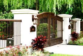 modern fence pictures best fencing ideas backyard garden design