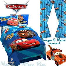 Disney Cars Bedroom Set by Disney Cars 2 Boys Twin Single Size Bedding Blue Comforter Set