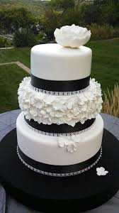 black and white wedding cakes white and black fondant wedding cakes fondant cake