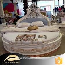 French Style Furniture by As2201 Luxury Furniture French Style Solid Wood Carved Round Bed