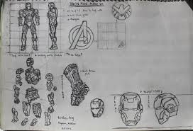 letz build an ironman mark 7 paper model no pep 6 steps with