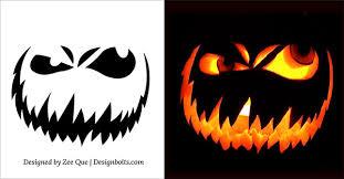 halloween pumpkin carving templates 10 free scary halloween pumpkin carving patterns stencils