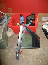 weather strips seals fitting removal interior exterior mk3