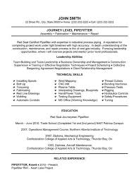 Mechanical Maintenance Resume Sample by 23 Best Trades Resume Templates U0026 Samples Images On Pinterest