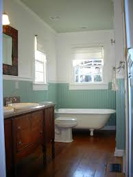 adorable wood white and soft aqua bathroom keen and fitting