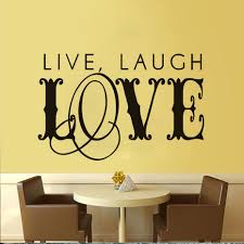 live laugh love home decor live laugh love art word wall stickers for kids rooms home decor