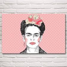 aliexpress com buy artwork frida kahlo autorretrato abstract art