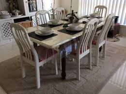 Dining Chairs Shabby Chic Shabby Chic Rustic White Timber Dining Chairs Dining Chairs