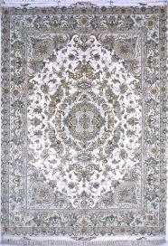 Neutral Persian Rug Khatibi 70 Raj Silk Persian Rug Item Ba 1