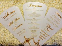 Vintage Wedding Programs Wedding Programs Fans Suppliers Best Wedding Programs Fans