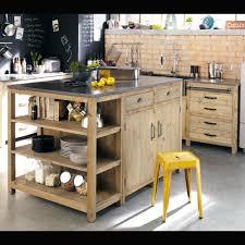 cuisine maison du monde occasion meuble bas de cuisine en pin recyclé l70 kitchens house and