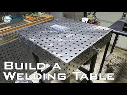 tab and slot welding table stronghand tools buildpro modular welding table 30in steel