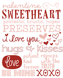 free valentines day printables small things are big things