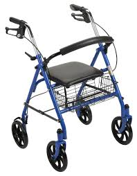 senior walkers with wheels four wheel rollator walker with fold up removable back support
