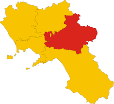Regional Map Of Italy by File Map Of Province Of Avellino Region Campania Italy Svg
