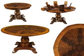 round dining room tables with self storing leaves round dining room tables with self storing leaves dining room