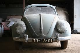 Vintage Cars Found In Barn In Portugal Daily Turismo 15k Incredible Survivor 1957 Oval Window Vw Beetle