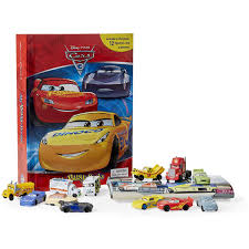 busy book disney cars 3 big