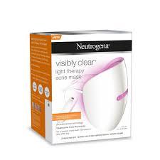 neutrogena light mask activator buy visibly clear light therapy acne mask 1 kit by neutrogena online